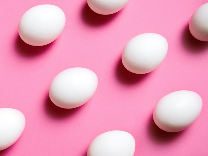 Egg Pattern on Pink