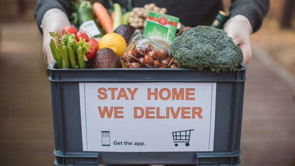 stay home we deliver app